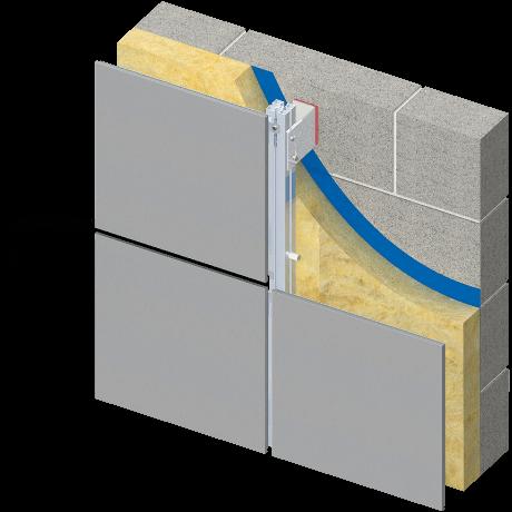 Metal Rainscreen Cladding Proteus HR
