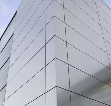 London Underground Stainless Steel Rainscreen Cladding
