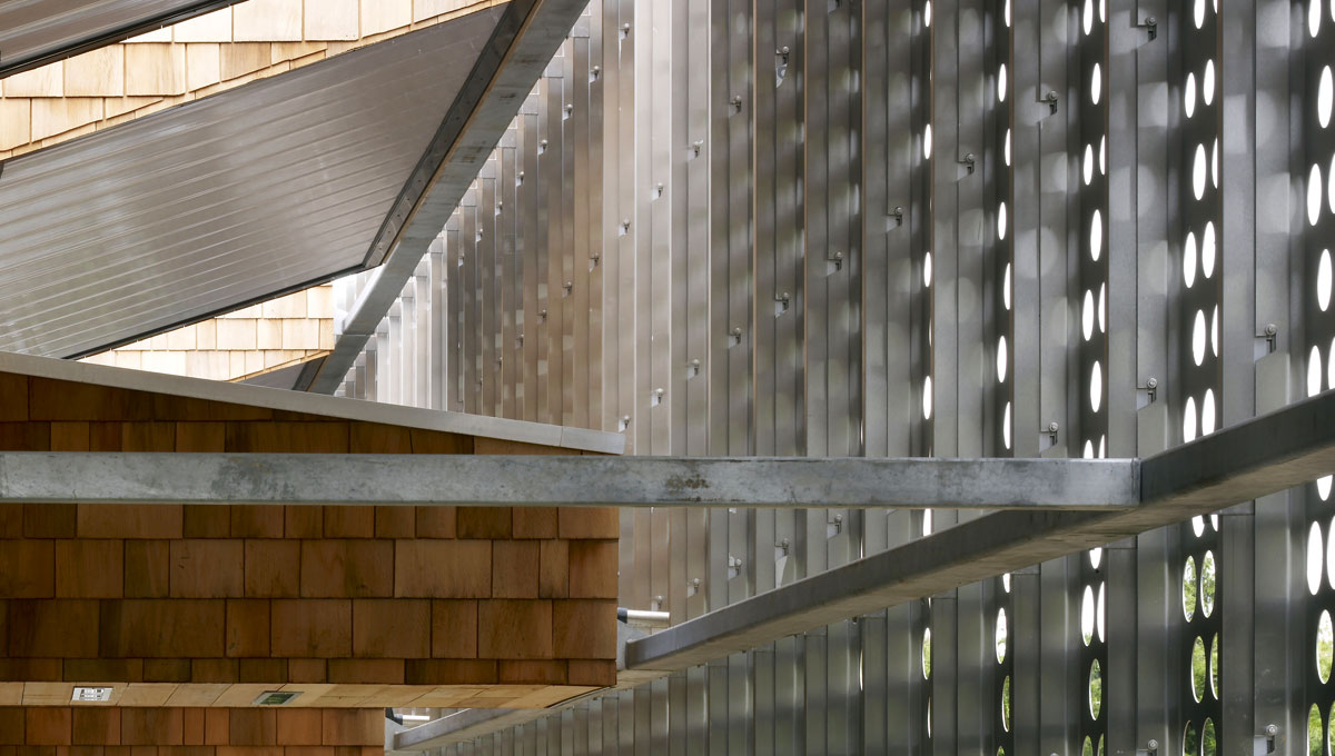Perforated Stainless Steel Screen Cladding